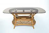 Обеденный комплект Ацтека  светло-коричневый (стол + 6 кресел), ok0028, фото 4