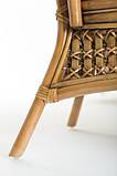 Обеденный комплект Ацтека  светло-коричневый (стол + 6 кресел), ok0028, фото 6