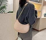 Мини сумка клатч, Женская сумка кросс-боди, маленькая сумочка через плечо для девушек крокодил, фото 9