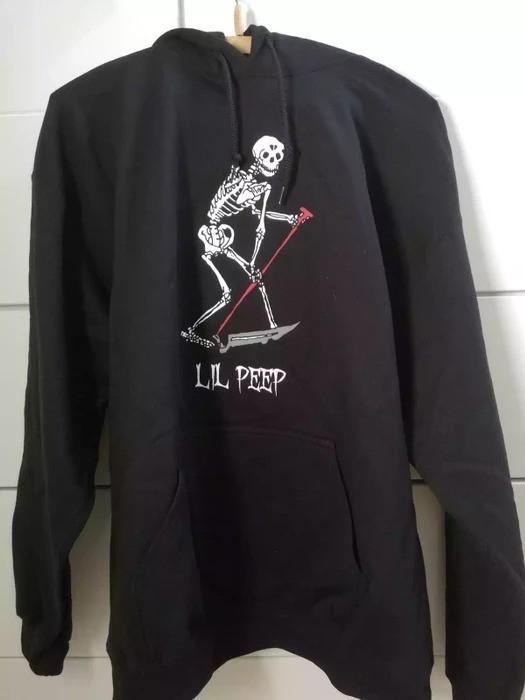 Худі LIL PEEP Лого чорне унісекс
