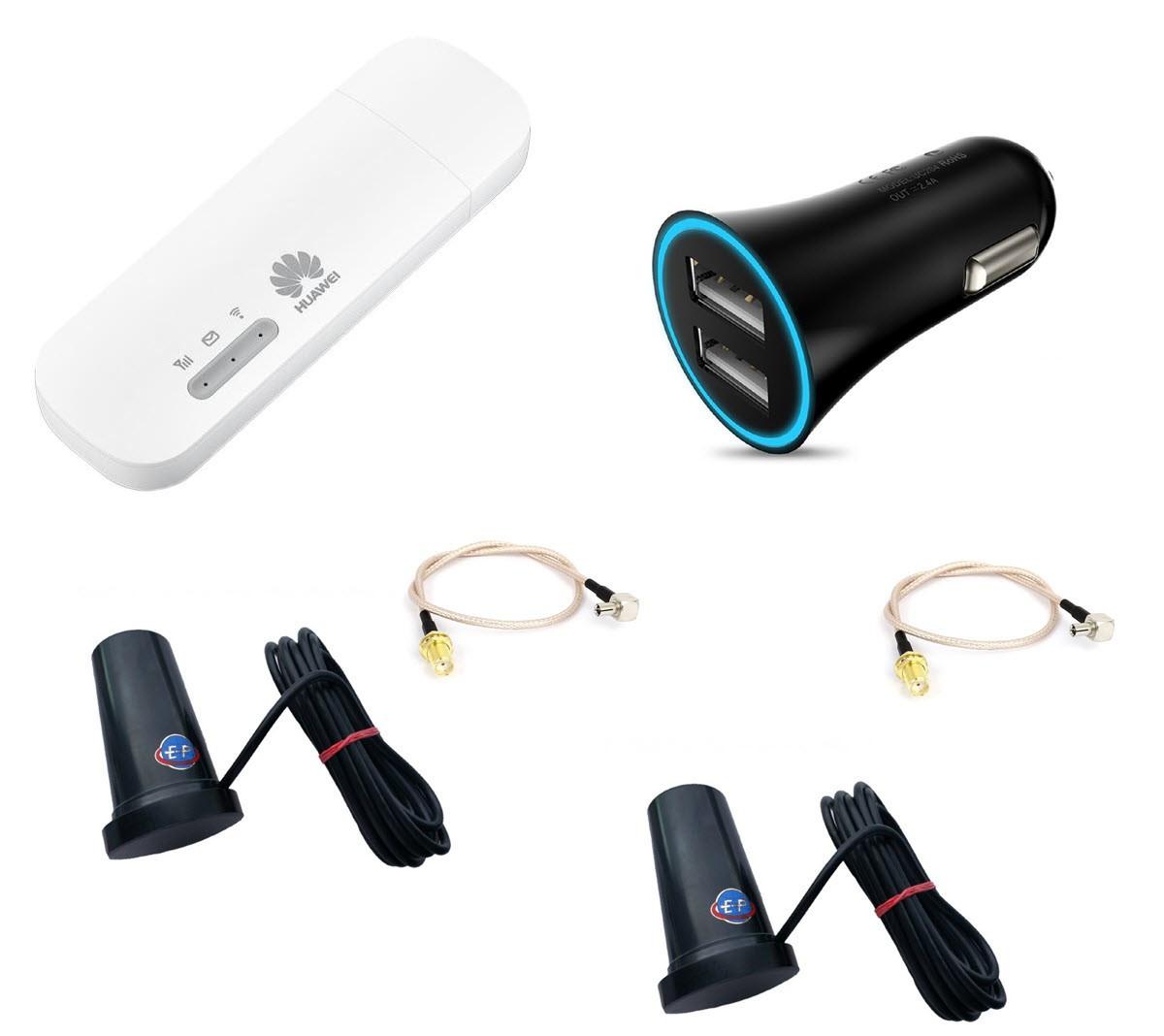 Автомобильный MIMO комплект беспроводного LTE интернета