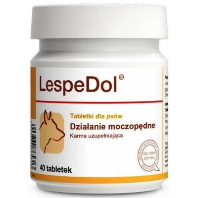 """LESPEDOL """"Dolfos""""   ЛЕСПЕДОЛ  мочегонный препарат для собак , пищевая добавка , 40 таблеток"""