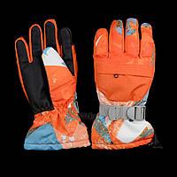 Перчатки лыжные с сенсором (ЗП-1001) XS, Тип 4