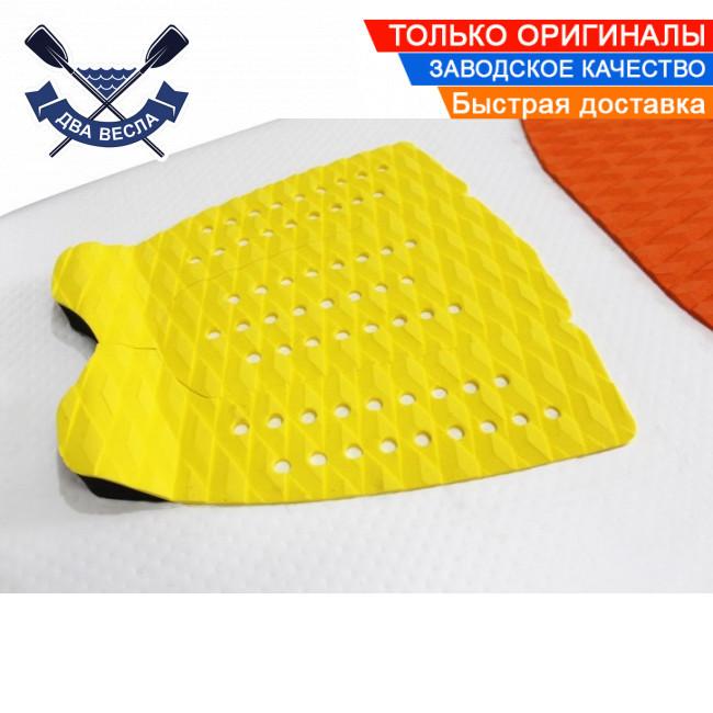 Килимок для серфа п'ятковий кикпад з EVA 33х27см ПЕД PAD накладка на серф килимок для вейксерфа САП дошки