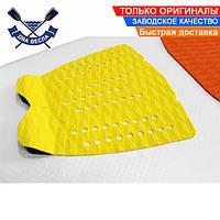 Коврик для серфа пяточный кикпад из EVA 33х27см ПЭД PAD накладка на серф коврик для вейксерфа САП доски