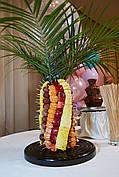 Фруктова пальма з натуральних фруктів 40 см