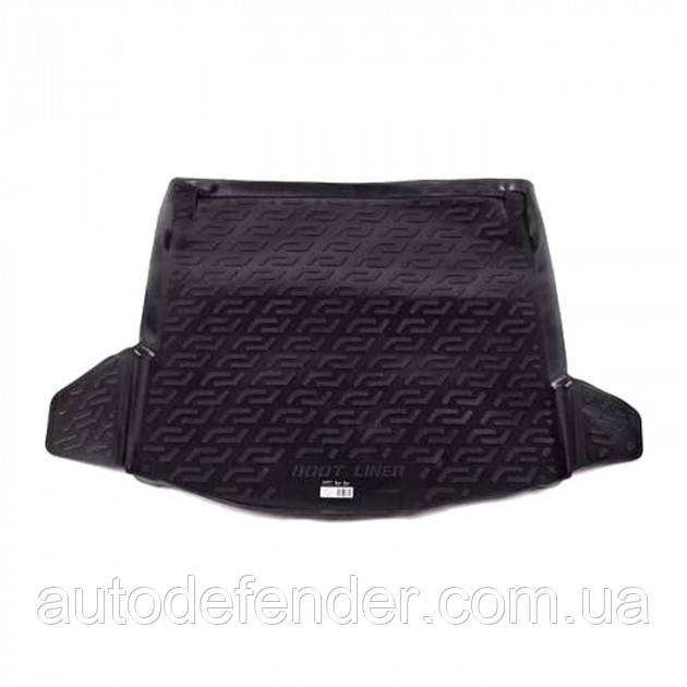 Килимок в багажник для Audi A4 B6-B7 2000-2008 седан, резино/пластиковий (Lada Locker)