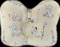 """Ортопедическая подушка для новорожденных """"Бабочка"""""""