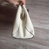 Стильная женская сумка с брелком, фото 5