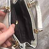 Стильная женская сумка с брелком, фото 9