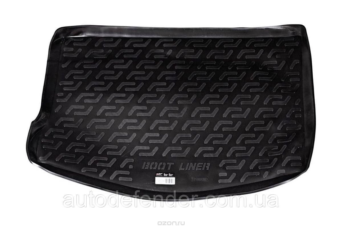 Коврик в багажник для Ford Focus II 2004-2011 хетчбэк, резино-пластиковый (Lada Locker)