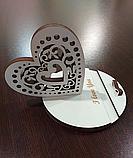 "Подставка для телефона ""Валентинка"" + подарочная коробка. Подарок на день св. Валентина, фото 3"