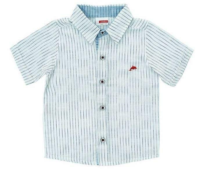 Біла сорочка для хлопчика, розмір 2 роки