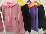 Женская толстовка c цветным капюшоном, фото 2