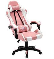 Геймерське ігрове крісло EXT ONE Pink Офисное кресло компьютерное Стул игровой Кресло крісло для геймерів