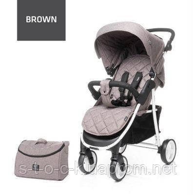 Дитяча коляска RAPID UNIQUE 2019  Колір brown