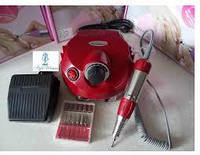 Фрезер для маникюра Nail Drill 202 35 Вт, 35000 об, красный