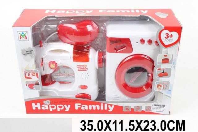 Побутова техніка дитяча швейна машинка пральна в коробці LS8234K