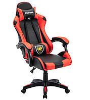 Геймерське ігрове крісло із подушками EXT ONE Red Офисное кресло компьютерное Стул игровой Кресло спорт