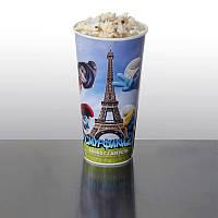 Стакан бумажный для попкорна Newcup 0,7л V24