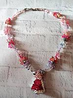 Красивый и стильный подарок девушке  из натурального камня - Агат, фото 1