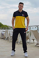 """Супер стильный летний мужской спортивный костюм с брюками """"Том"""" - 48,50,52,54 (желтый/серый/красный/синий)"""