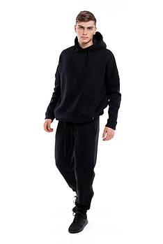 Костюм теплый мужской Intruder oversize S-M Черный (1608550104 )