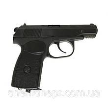 Пистолет пневматический МР-654К (Серия 28,черная рукоять) Байкал (13028)