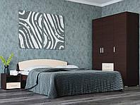 Спальня Бриз комплект 3 ЭВЕРЕСТ Венге темный + Дуб молочный, фото 1