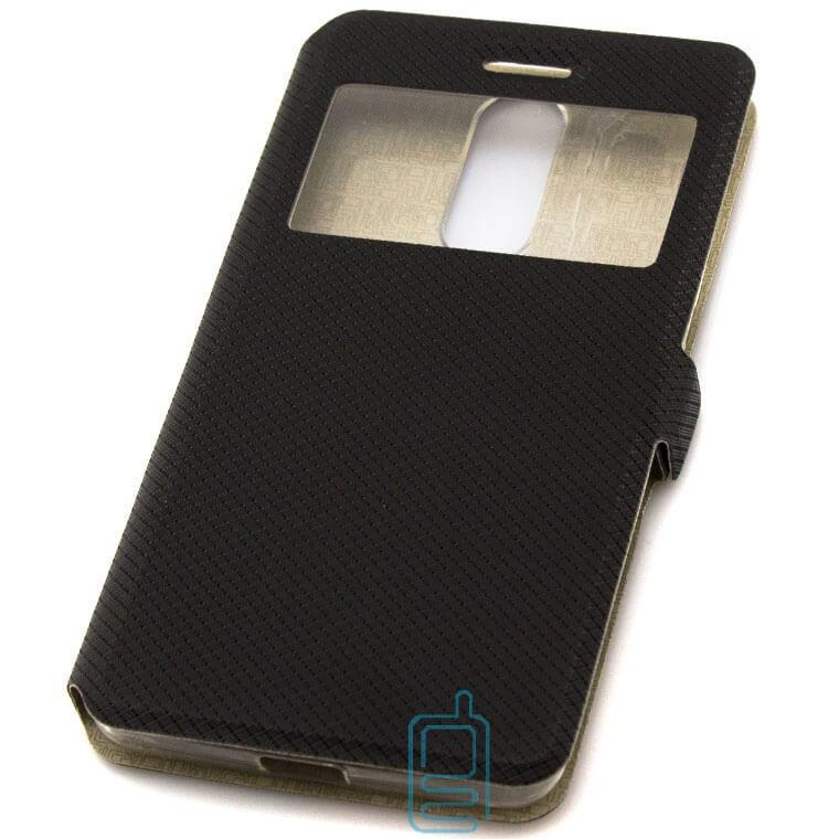 Чехол-книжка Modern 1 окно Lenovo K5 Note, K5 Note Pro черный