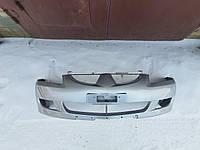 Бампер передній MITSUBISHI LANCER 9 --->2006 (ПОМАЛЬОВАНИЙ ) Сірий колір