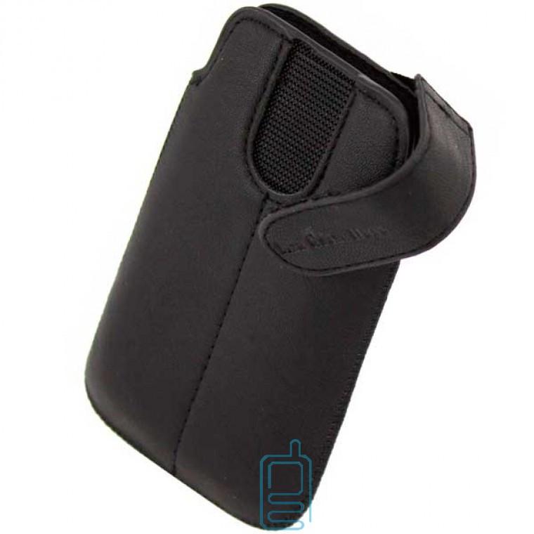 Чехол-футляр с застежкой Samsung Ace S5830 черный