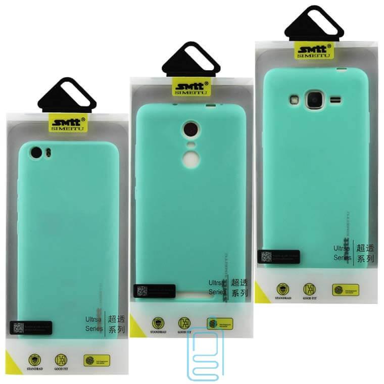 Чехол силиконовый SMTT Apple iPhone 7, 8, SE 2020 бирюзовый