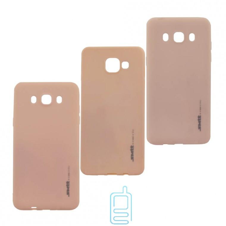 Чехол силиконовый SMTT Apple iPhone 7, 8, SE 2020 персиковый