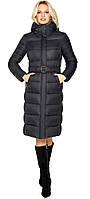Женская черная зимняя куртка модель 31052