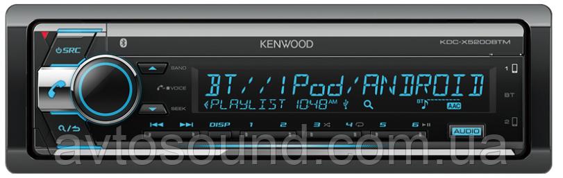 Автомагнитола Kenwood KDC-X5200BTM