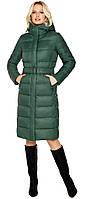 Куртка нефритовая женская зимняя модель 31052