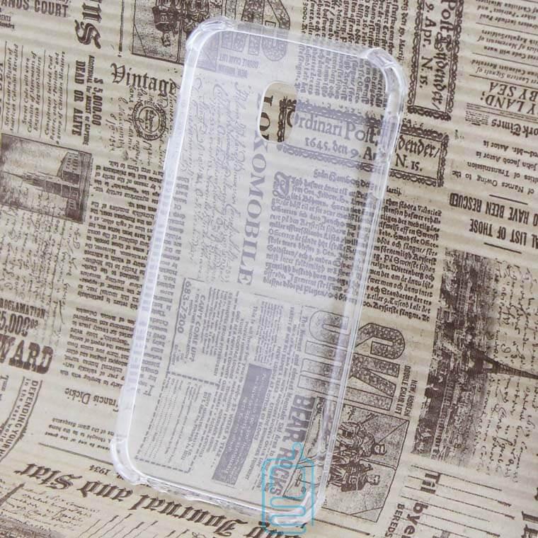 Чехол силиконовый Samsung J3 2017 J330 усиленный прозрачный