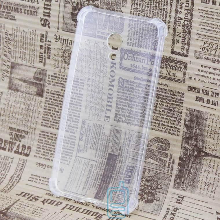 Чехол силиконовый Meizu M5 усиленный прозрачный