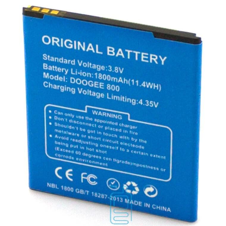 Аккумулятор Doogee DG800 1800 mAh AAAA/Original тех.пакет