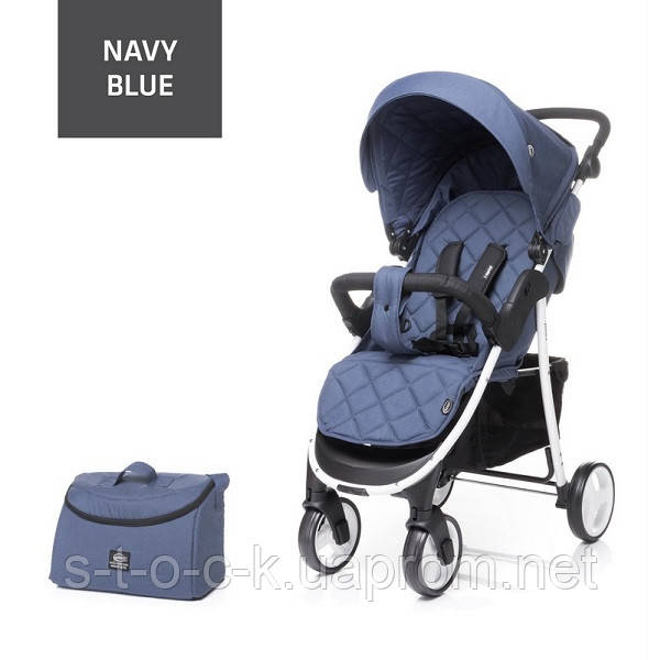 Прогулянкова коляска 4baby Rapid UNIQUE XIX (Рапід). Оновлена модель. Колір:  Navy Blue