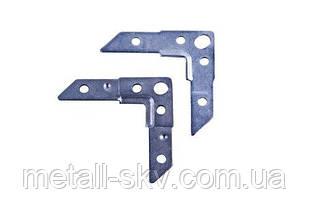 Уголок монтажный S20 (Уголок фланцевый монтажный S20) нержавеющая сталь 430ВА зеркало