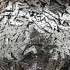 Куточок монтажний S20 (Куточок фланцевий монтажний S20) нержавіюча сталь 430ВА дзеркало, фото 3