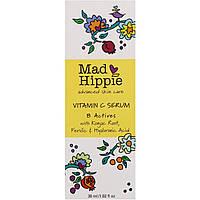 Mad Hippie Skin Care Products, Сыворотка витамина С, 8 активных веществ, 1,02 жидких унции (30 мл), фото 1