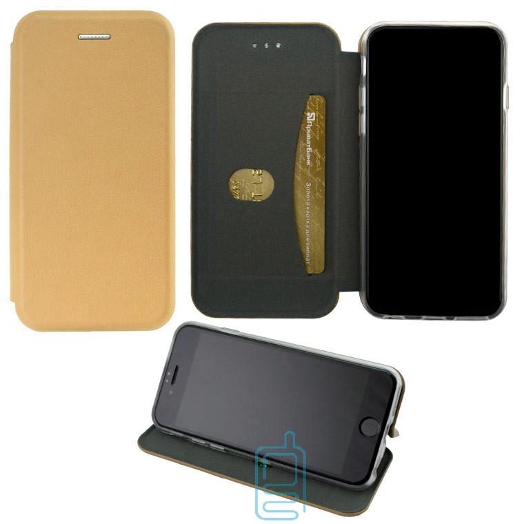 Чехол-книжка Elite Case Huawei Honor 6A золотистый