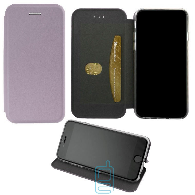 Чехол-книжка Elite Case Huawei Honor 6C Pro серый