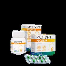 Йогурт NORM пробіотичні засіб при дисбактеріозі 60 капсул