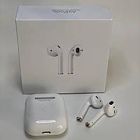 Беспроводные Bluetooth наушники AirPods 2 люкс копия с шумоподавленим, наушники для айфона