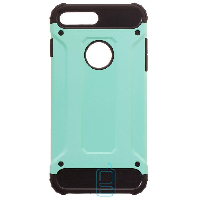 Чехол-накладка Motomo X5 Apple iPhone 7 Plus, 8 Plus бирюзовый