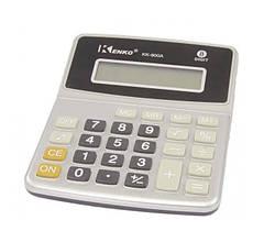Простой калькулятор Kenko KK-900 A, настольный, серый с черным